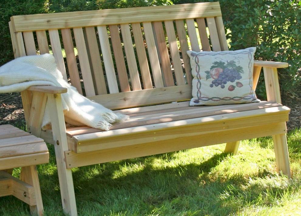 скамейки для дачи из дерева фото