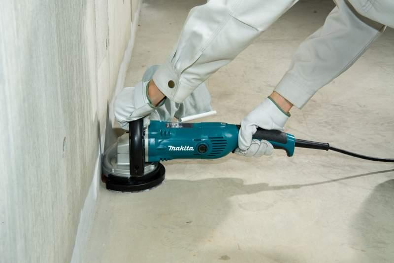 шлифовка бетонного пола фото