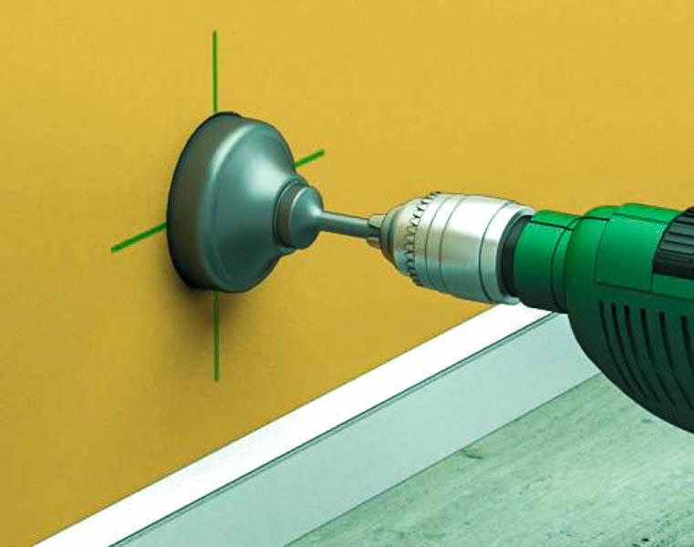 просверлить бетон коронкой